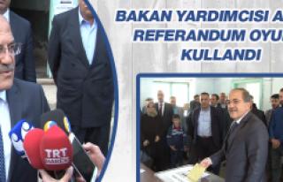 Alpay, Referandum Oyunu Kullandı