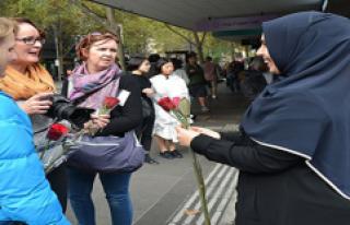 Avustralya'da 'Buyurun, Ben Müslümanım'...