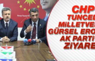 CHP'li Vekilden AK Parti'ye Ziyaret