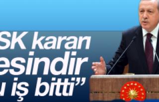 CHP'nin referandum itirazına Erdoğan'dan...