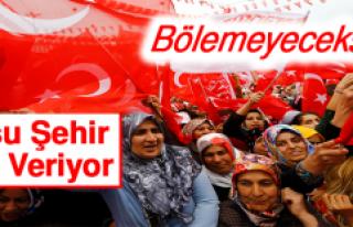 Cumhurbaşkanı Erdoğan Komşu Şehir Diyarbakır'da