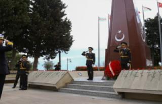 Deniz Kuvvetleri Komutanı Oramiral Bostanoğlu Azerbaycan'da