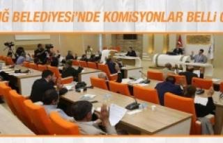 Elazığ Belediyesi'nde Komisyonlar Belli Oldu