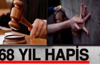 Elazığ'da cinsel istismara 68 yıl hapis