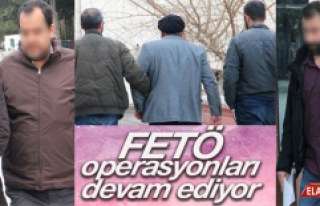 Elazığ'da FETÖ'nün eğitim yapılanmasına...
