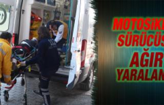 Elazığ'da Motosiklet Kazası