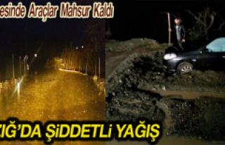 Elazığ'da Şiddetli Yağmur