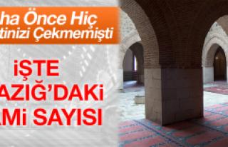 Elazığ'ın Cami Sayısı