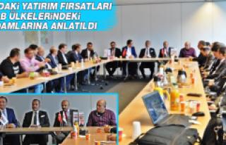 Elazığ'ın Yatırım Fırsatları Yurt Dışında...