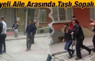 Elazığ'da İki Suriyeli Aile Arasında Kavga!