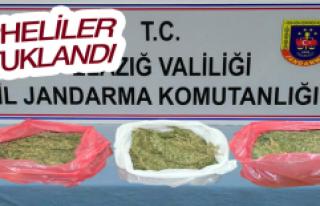 Elazığ'da Uyuşturucu İle Yakalanan Şüpheli...