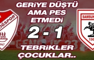 Elazığspor 2-1 Samsunspor