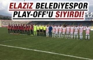 Elaziz Belediyespor Play-Off'u Sıyırdı