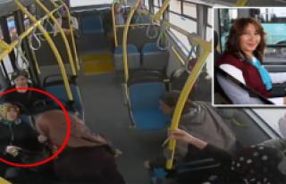 Fenalaşan yolcuyu hastaneye kadın otobüs şoförü...