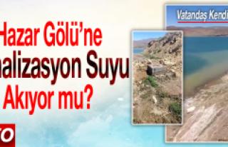 Hazar Gölü'ne Kanalizasyon Suyu Akıyor mu?
