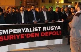 İdlip'te Ölenler İçin Gıyabi Cenaze Namazı...