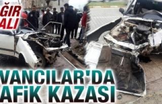 Kovancılar'da Trafik Kazası: 1 Ağır Yaralı