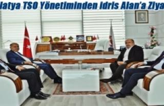 Malatya TSO Yönetiminden Başkan Alan'a Ziyaret