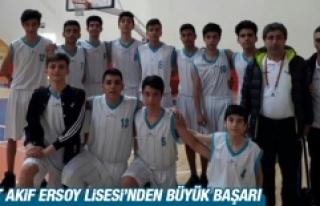 Mehmet Akif Ersoy Lisesi'nden Büyük Başarı
