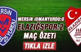 Mersin İdmanyurdu-Elazığspor Maç Özeti