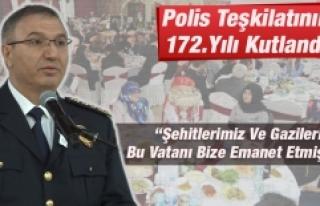 Polis Teşkilatının 172.Yılı Kutlandı