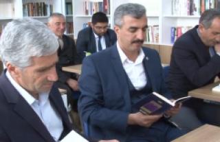 """""""Yedi Güzel Adam Mehmet Akif İnan"""" Kütüphanesi"""