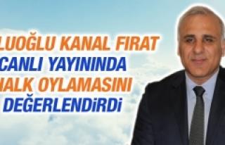 Zorluoğlu Kanal Fırat Canlı Yayınında Halk Oylamasını...