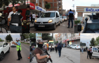 1400 Polisle Dev Huzur Operasyonu