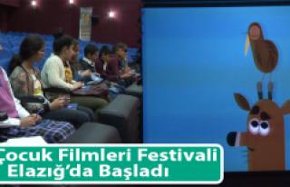 14. Çocuk Filmleri Festivali Elazığ'da