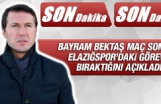 Bayram Bektaş Maç Sonunda Açıkladı! Elazığspor'dan...