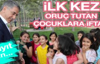 Elazığ Belediyesi'nden Çocuklara İftar