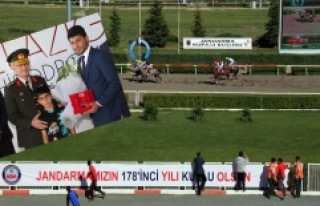 Elazığ'da Jandarma Kupası Koşusu Yapıldı