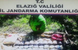 Elazığ'da PKK'ya Ait Depo Ele Geçirildi