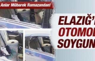 Elazığ'da Otomobil Soygunu!