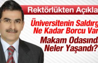 Fırat Üniversitesi Rektörlüğü'nden Saldırıyla...