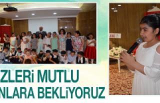 İsmet Paşa ilkokulu Mezuniyet Heyecanı