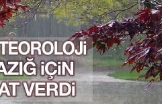 Meteorolojiden Tekrar Uyarı Geldi