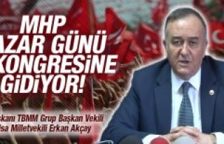 MHP Pazar Günü İl Kongresine Gidiyor