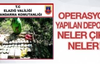 PKK Deposuna Baskın