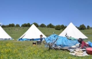 Tunceli'de Yayla Hayatı Başladı