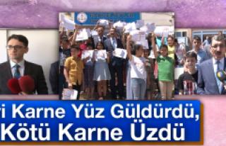 Elazığ'da Karne Heyecanı, Vali Yardımcısı...