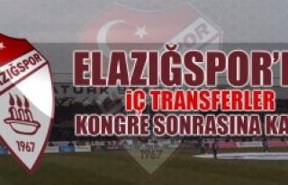 Elazığspor'da İç Transferler Kongre Sonrasına...