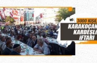 Karakoçan'da Kardeşlik İftarı
