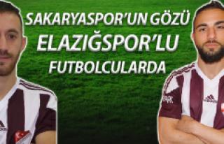 Sakaryaspor Gözünü Elazığspor'lu Futbolculara...