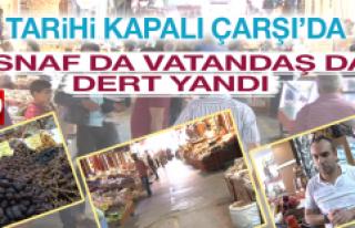 Tarihi Kapalı Çarşı'da Ramazan