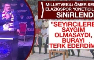 Elazığspor'un 50. Yıl Şenliklerinde Ortam...