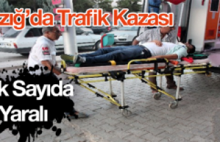 Elazığ'da Kazalar Durmak Bilmiyor