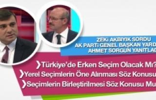 Zeki Akbıyık Sordu Ak Parti Genel Başkan Yardımcısı...