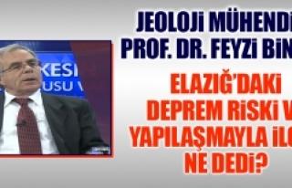 Prof. Dr. Bingöl, Elazığ'daki Yapılaşmayla...
