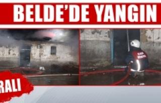 Ev Yangını, Bir Kişi Hastaneye Kaldırıldı